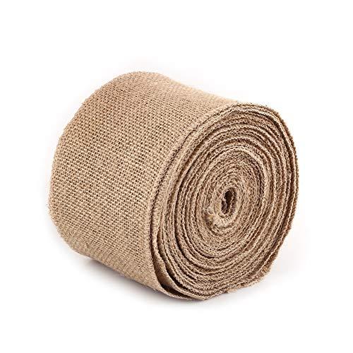 Rollos de cinta de yute, cintas de tela de arpillera, rollo