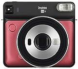 Fujifilm Instax Square SQ6 Fotocamera Istantanea per Foto Formato Quadrato 62 x 62 mm, Ruby Red