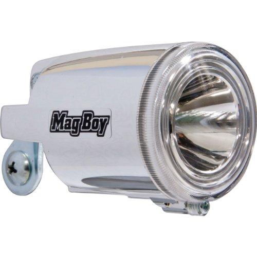 丸善(MARUZEN) Mag Boy [MLI-1AL] ハブダイナモ装着車用LEDヘッドライト 定格1W6V-2.4W