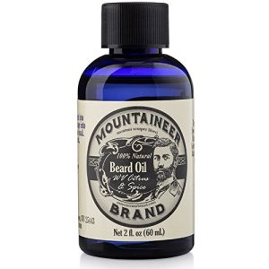 Beard Oil by Mountaineer Brand (2oz) | Premium 100% Natural Beard Conditioner (WV Citrus & Spice)