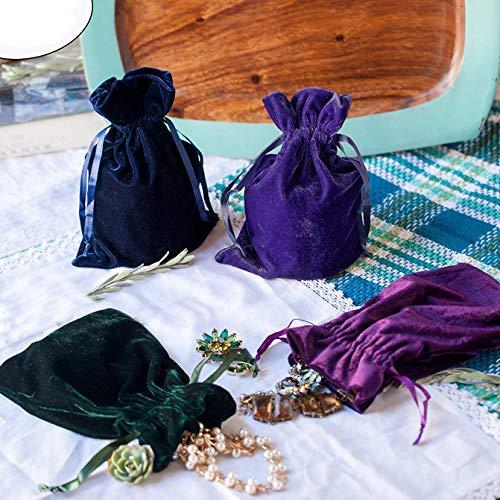 Huji Luxurious Cloth Velvet Soft Tarot Magic Drawstring Bags...