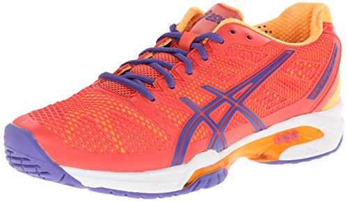 ASICS Women's Gel-Solution Speed 2 Clay-W, Purple/White/Hot Pink, 11.5 M US