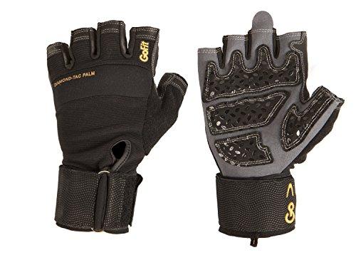GoFit Diamond-Tac Wrist Wrap Gloves