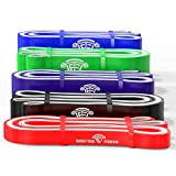 WODFitters Titanium Pull Up Bands (#1 Red)