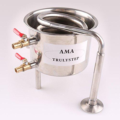 Fayelong Cooler per 2pentola Moonshine still/Distillatore: acciaio INOX/rame Coil raffreddamento pot 70L