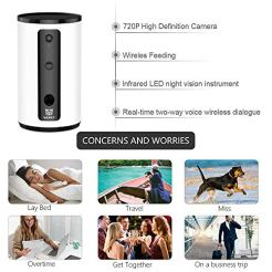 WOpet-Smart-Pet-CameraDog-Treat-Dispenser-Full-HD-WiFi-Pet-Camera-with-Night-Vision-for-Pet-ViewingTwo-Way-Audio-Communication-Designed-for-Dogs-and-CatsMonitor-Your-Pet-Remotely