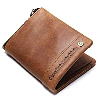 RFID THEFT PROTECTION : In this growing digital world, the money in your bank is at constant risk from unwanted RFID scanners used by thieves these days. CONTACTS RFID Blocking wallet can perfectly block unwanted RFID scanners as it comes with RFID B...