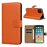 Étui en cuir Smart Fit Sport pour iPhone - Étui portefeuille en cuir SFS pour...