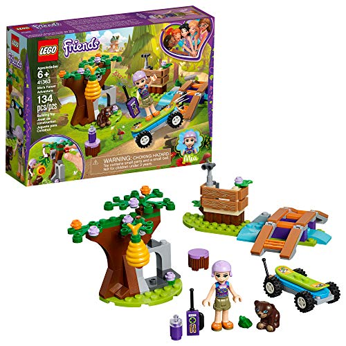 LEGO Friends Mia's Forest Adventure 41363 Building Kit (134 Pieces)