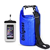 Unigear 5L/10L/20L/30L/40L 600D Dry Bag Sack, Waterproof Floating Dry Gear Bags for Boating, Kayaking, Fishing, Rafting, Swimming, Camping and Snowboarding (Blue, 30L)