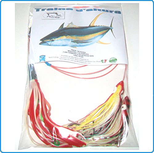 Piranha Fishing Line TERMINALE TRAINA ALTURA Big Marlin Jet da TONNI LAMPUNGHE Marlin ALALUNGA Spada