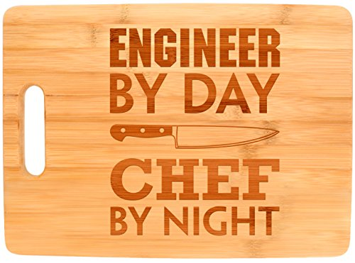 Engineering Gift Engineer By Day Chef By Night STEM Math Big...