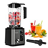 PakOne Countertop Blender, 74Oz Large Professional Blender, High Speed Blender for Shakes and Smoothies, 1800W Powerful Blenders for Kitchen Ice Crushing, Frozen Drinks, Self-Cleaning/10-Speed Control