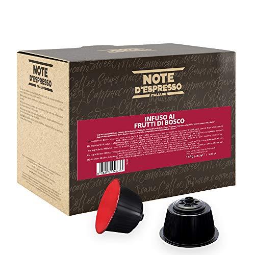 Note D'Espresso Infuso ai Frutti di Bosco in Capsule Compatibili con Sistema Dolce Gusto - 144 g (48 x 3 g)