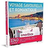 SMARTBOX - Coffret Cadeau - VOYAGE SAVOUREUX ET ROMANTIQUE - 1040 séjours...