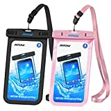 Mpow Universal Waterproof Case, IPX8 Waterproof Phone Pouch Dry Bag...
