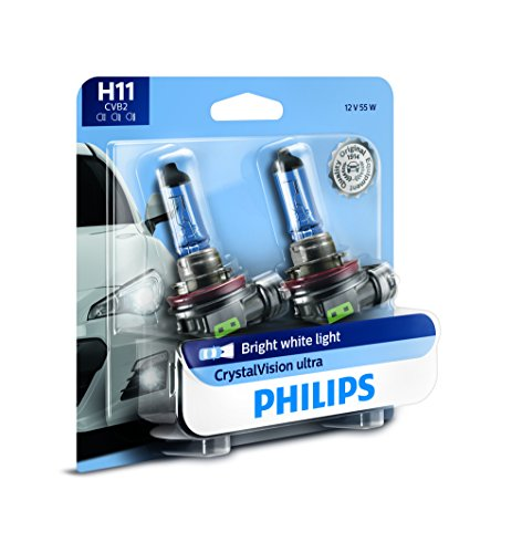 Philips H11 CrystalVision Ultra Headlight Bulb