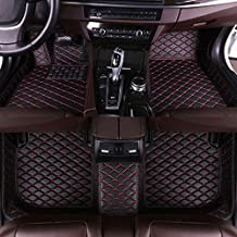 Muchkey Car Front and Rear Floor Mats Carpet Floor Mats Leather Fit for 2019 Lexus Rx350..