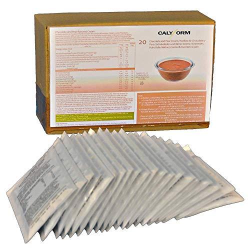 CALYFORM Natillas proteicas para dieta sabor Chocolate y Per