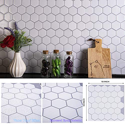 STIQUICK TILES Peel and Stick Backsplash - for Kitchen Decorative...