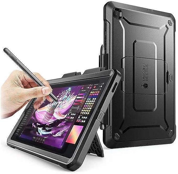 """SupCase UB Pro Coque avec Protection d'écran intégrée - pour Galaxy Tab S6 Lite 10,4"""" modèle SM-P610/P615 Version 2020 (Noir)"""