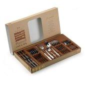 Pinti 1929Acciaio Inox Design Finestra di posate Leonardo 24pezzi in box