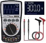 Oscilloscope Multimeter, 2-in-1 Intelligent Digital Scope Meter Multimeter, Professional LED...