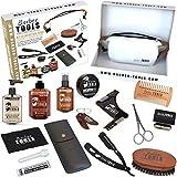 ✮ BARBER TOOLS ✮ Kit/Set/Estuche de arreglo y cuidado de la barba y afeitarse | Cosmético Made...