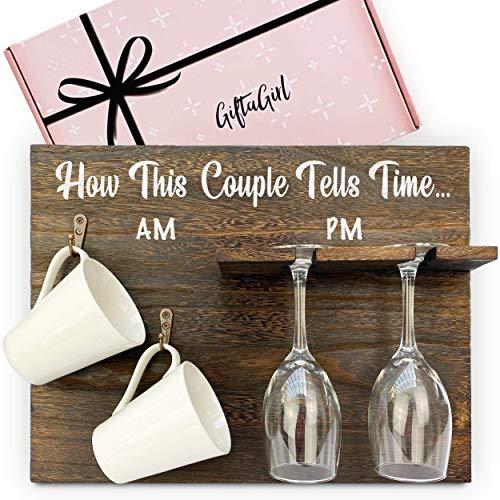 GIFTAGIRL Popular Engagement Gift for Couples or Wedding...
