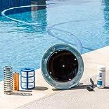 XtremepowerUS 90119 Solar Purifier Pool Ionizer System, Blue