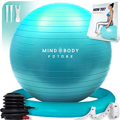 Pelota Suiza o Gym Ball Mind Body Future. Bola para Pilates,...