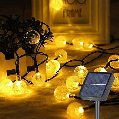 Garden Solar Lights, 50 LED Outdoor Solar String Lights Garden...