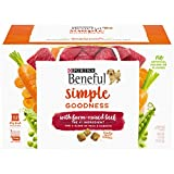 Purina Beneful Dry Dog Food, Simple Goodness With Farm Raised Beef - 32 ct. Box