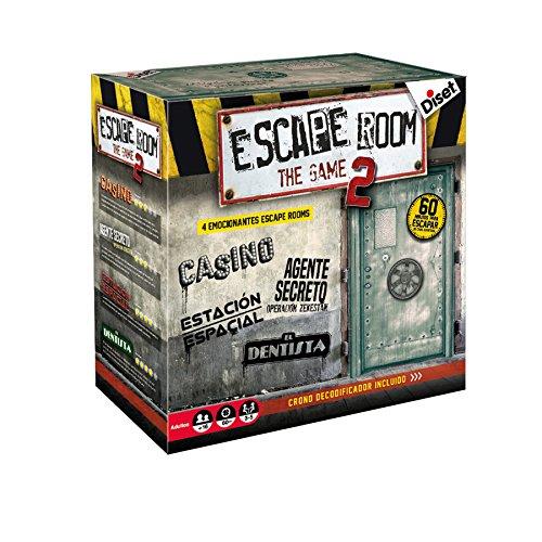 Diset - Escape Room The Game 2 Juego, Multicolor, 62326