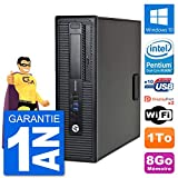 HP PC EliteDesk 800 G1 Intel G3220 RAM 8Go Disque Dur 1To Windows 10 WiFi (Reconditionné)
