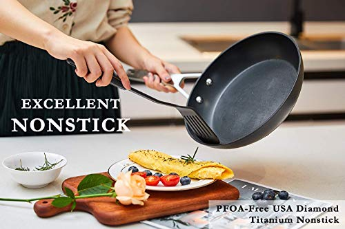 Product Image 8: Stainless Steel Induction Nonstick Frying Pan Cookware set, MSMK 12 and 10 <a href=