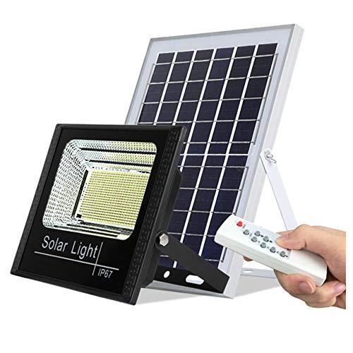 ESTEAR 550 LED Luci di Sicurezza Solari per Esterni, Luci di Inondazione Solari IP67 Luce Solare Impermeabile Lampade da Parete Ad Energia Solare Super Luminose per Cortile della Porta del Giardino