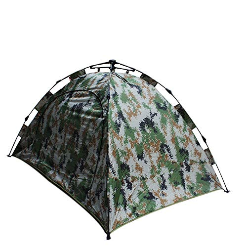 Zelten Family Camp Zelt Freien Camouflage Cotton Zelt Starke warme Winter Zelt Winddichtes Zelt Leicht Camping (Color : As Shown, Size : One Size)