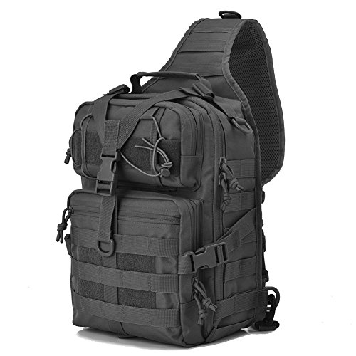 Tactical Sling Bag Pack Military Rover...