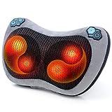 Coussin de Massage Shiatsu, ROIPUS 3D Infrarouge Coussin Massant Chauffant,...