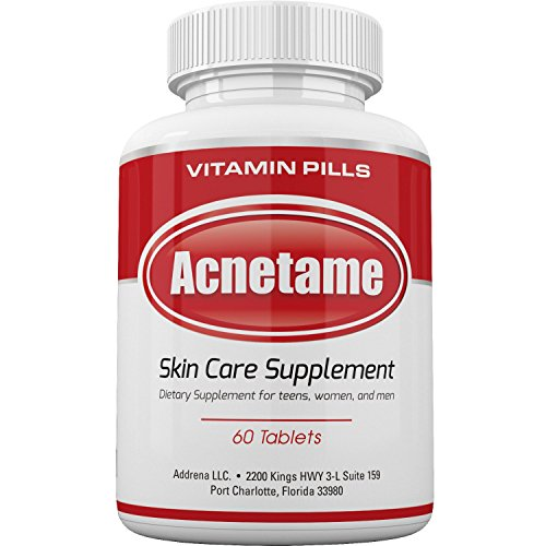 Acnetame- Vitamin Supplements for Acne Treatment, 60 Natural Pills 1