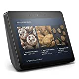 """Echo Show (2nd Gen) – Premium sound and a vibrant 10.1"""" HD screen - Charcoal"""