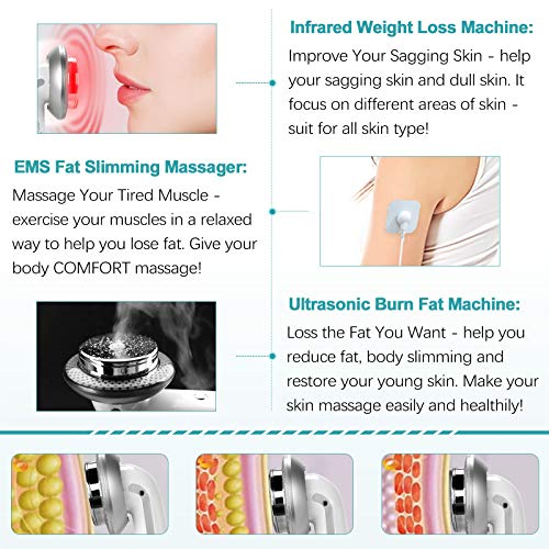 Weight Loss Machine Belly Fat Burner for Women Fat Burning Machine Fat Remover Massager for Stomach Arm Leg Lose Fat Machine 7