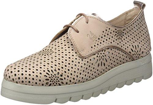 24 HORAS 23573, Zapatos de Cordones Oxford Mujer, Rosa (Nude 8), 40 EU