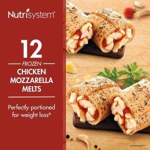 Nutrisystem® Chicken Mozzarella Lunch Melt, 12 Count (Frozen) 12 - My Weight Loss Today