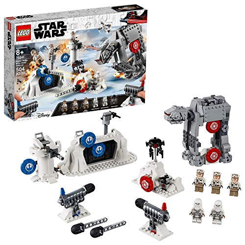LEGO Star Wars: The Empire Strikes Back Action Battle Echo Base Defense 75241 Building Kit (504 Pieces)