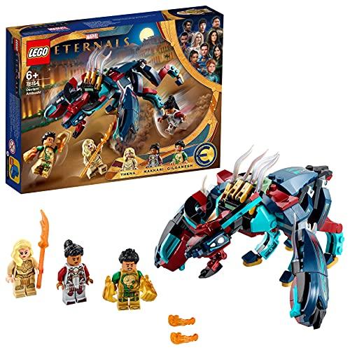 LEGO 76154 Marvel Hinterhalt des Deviants! Spielzeug aus dem Marvel Film The Eternals für Kinder ab...