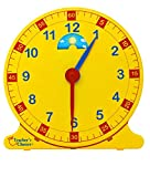 Learn How to Tell Time Teaching Clock  Large 12' Classroom Demonstration Night and Day Learning Clock