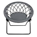 Impact Canopy 460060013-VC Web Folding Bungee Chair, Gray