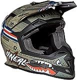 O'Neal 5 Series Unisex-Adult Wingman Full Face Helmet (Multi/White, Medium)